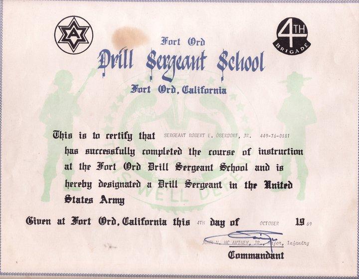 D.I. Certificate